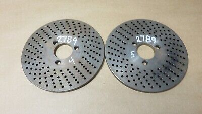 Dividing Head Rotary Table Indexing Plate 21-33 Hole 5 Diameter 1 18 Hole