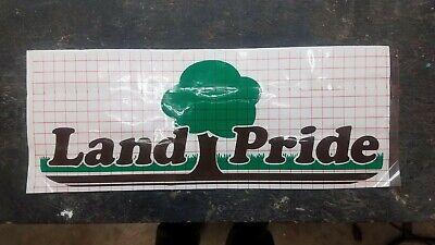 Land Pride Vinyl Decal