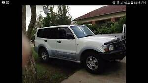 2003  Turbo Diesel Mitsubishi Pajero 3.2 Manual Clarence Town Dungog Area Preview
