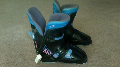 524bcf127a2f Salomon Sport Adult Ski Boots Womens Size 325 25.5 Flex 63 Black HTC
