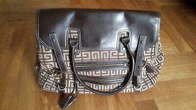 Givenchy Leder Braun (Aufgepasst original Tasche von Givenchy Canvas Itbag Leder und Textil Canvas)
