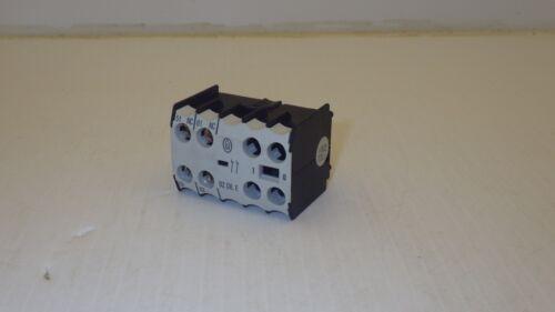 MOELLER IEC/EN60947 CONTACTOR 600V-10A 250V-0.5A