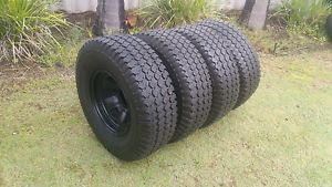 4X4 HANKOOK TYRES ON RIMS 31 /10.5/R15 Alexander Heights Wanneroo Area Preview