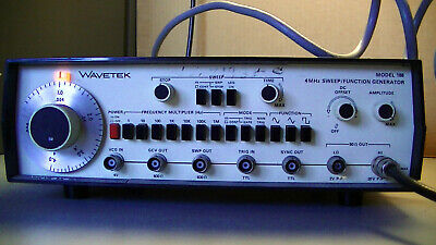 Wavetek Model 188 4mhz Sweepfunction Generator Tested Functional