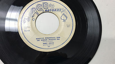 Huey Smith Rocking Pneumonia And The Boogie Woogie Flu Part 1   2 45 Ace 530