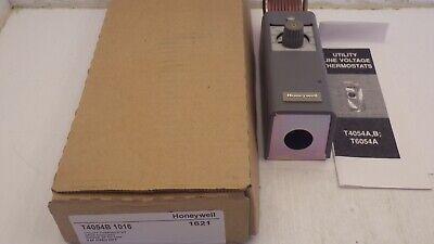 Utility-thermostat (HONEYWELL T4054B-1016 UTILITY THERMOSTAT SPST COOLING, RANGE 35-110F, NIB )