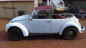 VW Beetle convertible 1968 Mandurah Mandurah Area Preview