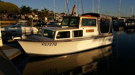 6.8m Savage Cabin Cruiser Manly Brisbane South East Preview