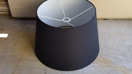 Huge Black Lamp Shade