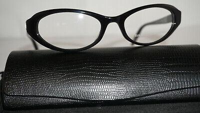 Barton Perreira RX Eyeglasses New Lolita Black 52 18 (Barton Eyeglasses)