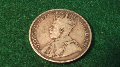 1917 50C Canada  nice coin silver