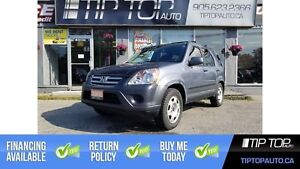 2006 Honda CR-V EX ** Accident Free, 4WD, Fuel Efficient **