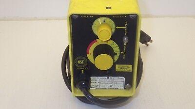 Lmi Liquid Metronics Inc A151-190 Dual Manual Control Metering Pump