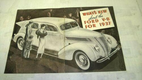 1937 Ford Original Sale Advertising