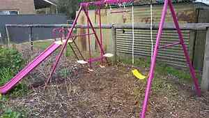 Swing set pink Meadows Mount Barker Area Preview