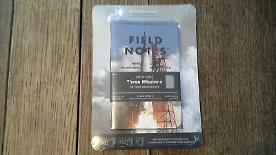Field Notes Set of Three Missions, New in Plastic