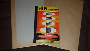 Quad Hi Fi Year Book 1960 (Rare Quad Yearbook)