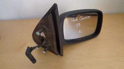 Außenspiegel manuell rechts Ford Fiesta Courier Bj.99 schwarz unlackiert