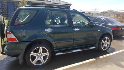 2001 Mercedes Benz Ml turbo diesel 7 seater tow bar