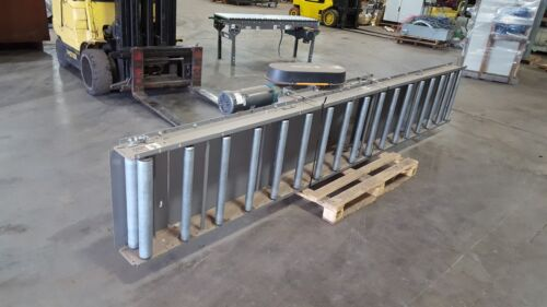 FKI LOGISTEX Roller bed belt conveyor 12