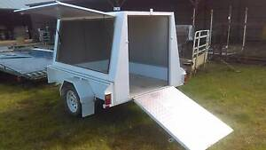 Box Trailer with Canopy Ardlethan Coolamon Area Preview