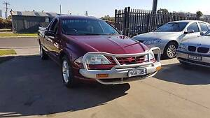 2002 Ford Falcon AU Series III Ute AUTO LOW KMS Williamstown North Hobsons Bay Area Preview