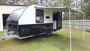 """REDUCED 2016 custom made caravan 15.4"""" Elimbah Caboolture Area Preview"""