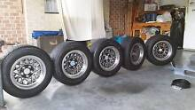 hotwire wheels x5     plus 8 tyres Bensville Gosford Area Preview