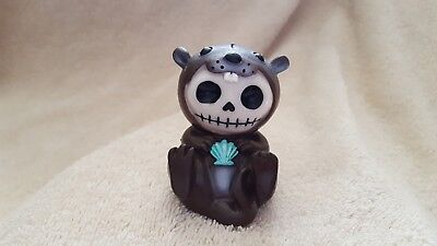 FURRYBONES Otto the Otter Figurine Skull in Costume Collect New Free Shipping