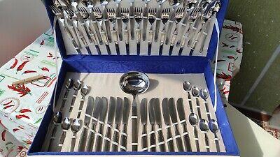 Servizio Set Posate Acciaio Inox 18/10 Pinti Pintiinox Vintage mai usato