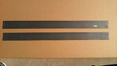 Set Of 3 - 0.134x2.7x36 1075 Cra High Carbon Steel Flat Bar For Knife Making