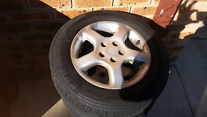 """Subaru celica camry 14 """" wheels set of 4 pcd 100x5 Greenfield Park Fairfield Area Preview"""