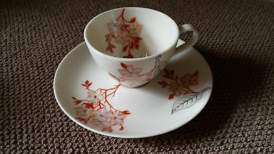 Mandalay by Castleton (USA) Flat Demitasse Cup and Saucer Set
