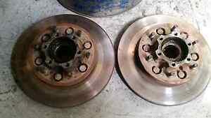 Nissan patrol gq front rotors with good wheel bearings Eltham Nillumbik Area Preview