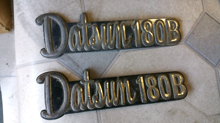 Datsun 180B badges Glen Waverley Monash Area Preview