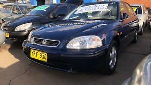 1996 Honda Civic GLi Sedan ! Fully Serviced & Inspected ! AUTO ! Granville Parramatta Area Preview