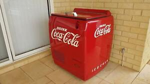 1950s Coke Fridge