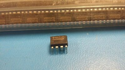 10 Pcs Tlc555cp Ti Ic Osc Single Timer 2.1mhz 8-dip
