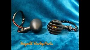 Chrome Mini Turn Signals.    For Your Harley Davidson