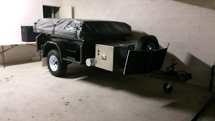 Heavy Duty Off Road Camper Trailer - Dec 2014 build
