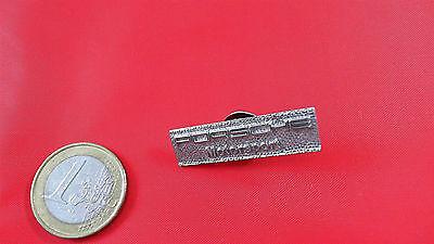 Porsche Motorsport Pin Badge silber glänzend