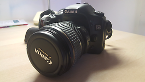 Canon EOS 30D DSLR camera bundle with 2 lenses and carry bag Kew Boroondara Area Preview