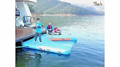 Inflatable Boat & Ski Dock, Floating Boat Dock, Houseboat, Pontoon, Fender