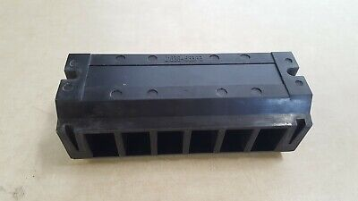 Enclosed 6 Position Screw Connector Terminal Strip Block 0183b4583p2