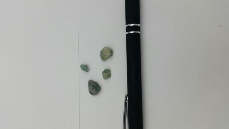 Authentic Emeralds # 7, from Shipwreck Antique Shop in St Augustine, Florida