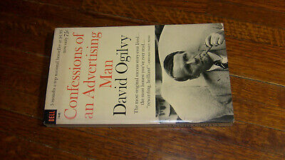 VINTAGE DELL PAPERBACK: CONFESSIONS OF AN ADVERTISING MAN, david ogilvy,