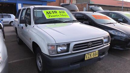 1999 Toyota Hilux Dual Cab Ute ! Fully Serviced & Inspected !! Granville Parramatta Area Preview
