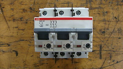 ABB Control  S503UC-K1.5 S503UC-K1-5 - S503UCK15 MCB S500 3P UC-K 1.5A