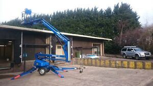 Trailer Mounted Towable Cherry Picker Boom Lift Access Equipment Hire TL37