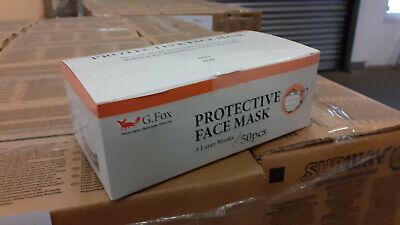 2 x 50 Stk.=100X Mundschutzmasken 3 Lagig in Spenderbox